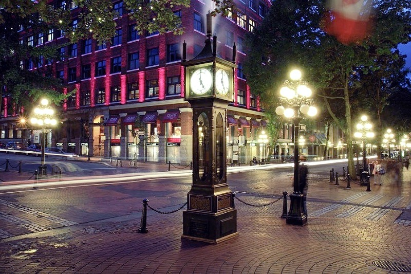 Gastown Night Photography